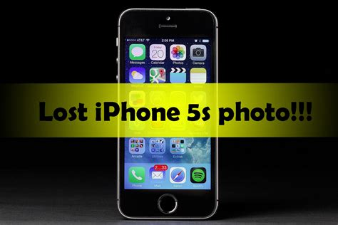 lost iphone recover iphone 5s pictures without backup iphone recovery