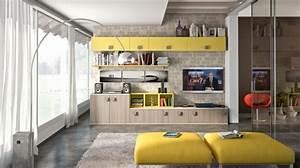 Meuble De Rangement Salon : id es pour d corer un salon avec des meubles de rangement ~ Dailycaller-alerts.com Idées de Décoration