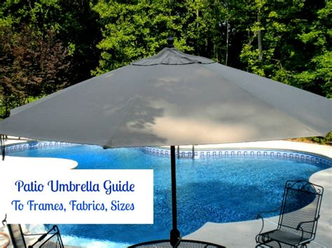 Your Guide To Selecting A Patio Umbrella