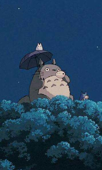 Totoro Studio Ghibli Iphone Wallpaper
