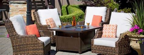 tables pits with outdoor furniture