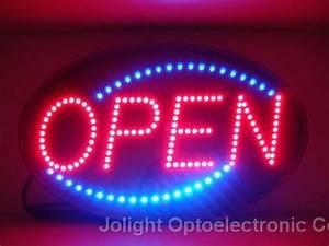 Led Open Sign from Jolight Optoelectronic Co Ltd B2B