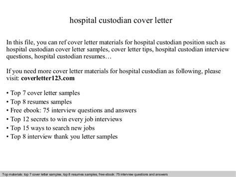 Janitor Cover Letter Costumepartyrun