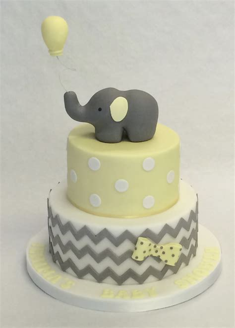 tier elephant baby shower cake baby shower cakes
