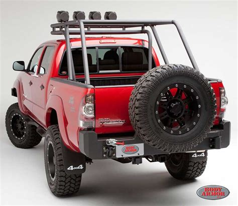 Body Armor Toyota Tacoma Rear Bumper 20052015 [tc2961
