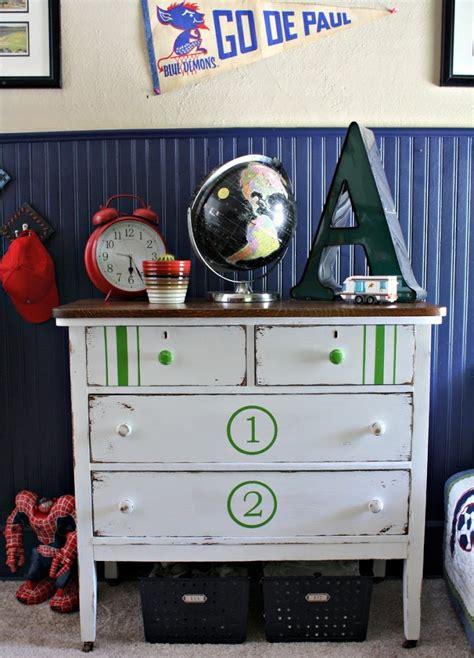 diy painted dresser  boys