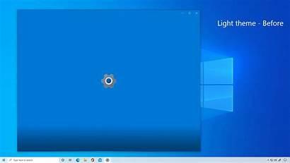 Windows Theme Splash Screen Build Settings Before