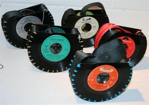 Tasche Aus Schallplatten by 98 Ausgefallene Ideen F 252 R Deko Aus Schallplatten