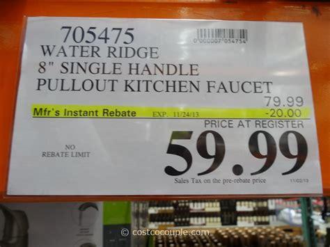 water ridge kitchen faucet manual water ridge pull out kitchen faucet