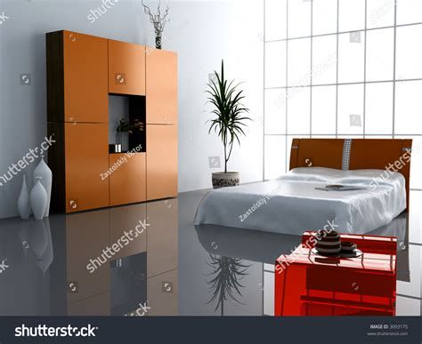 Modern Bedroom Interior Design Computer Generated Image modern bedroom interior design computer generated image