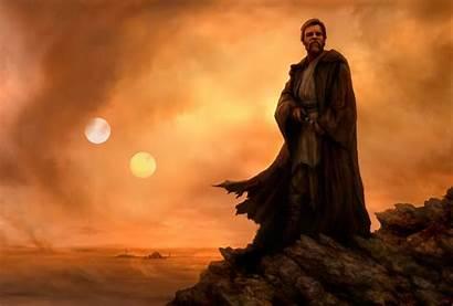 Wars Star Artwork Obi Wan Wallpapers Digital