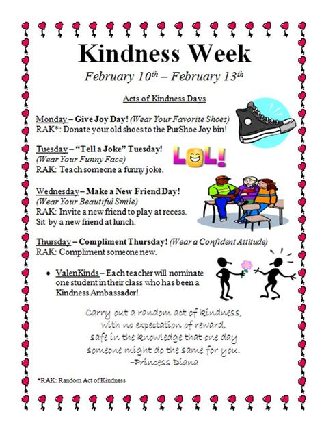 kindness week elementary school counseling bullying