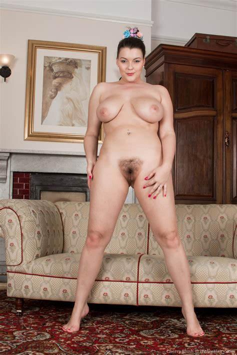 Busty Cherry Blush Spreads Hairy Pussy The Hairy Lady Blog