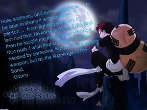 Naruto Gaara Quotes. QuotesGram
