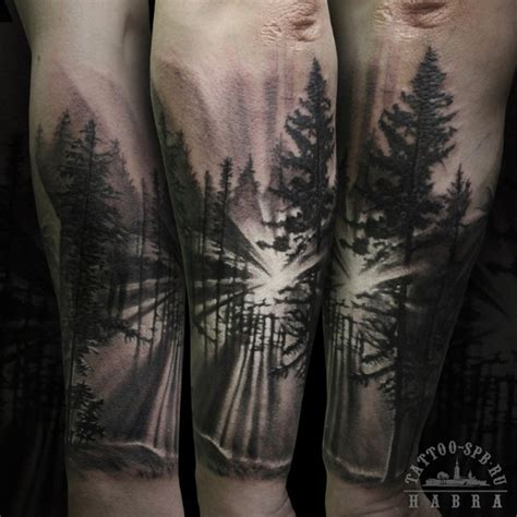 glorious forest tattoo designs amazing tattoo ideas