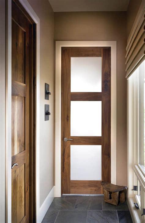 custom wood interior doors arched glass