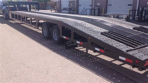 53 Step Deck With Rs by 53 Foot Drop Deck 3 Car Hauler Suncountry Trailers