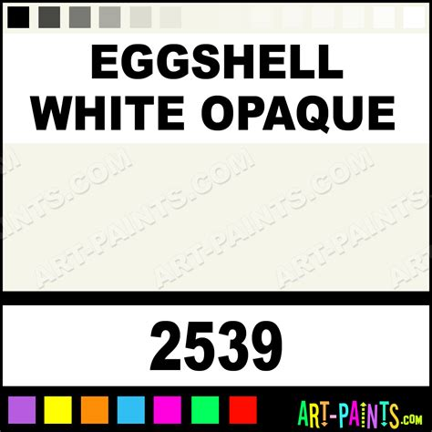 eggshell white opaque ceramcoat acrylic paints 2539