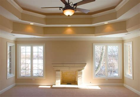 Adding Tray Ceiling by Tray Ceilings Add Height For The Home