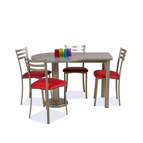 table cuisine 4 pieds table de cuisine en stratifié hauteur 75 cm luros 4