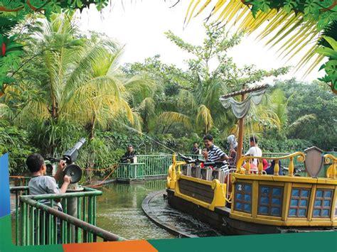 serunya wisata  jungle land sentul