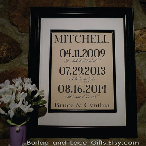 second anniversary gift wedding gift second anniversary gift cotton anniversary