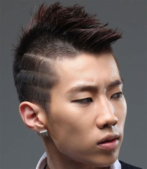 fun  edgy asian men hairstyles