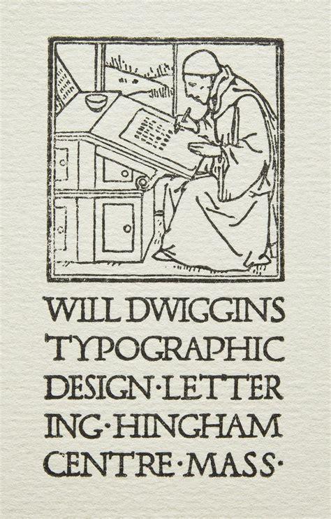 william addison dwiggins business card  usa