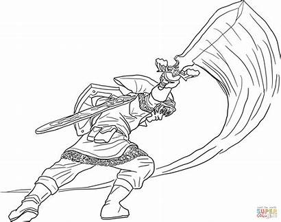Link Coloring Pages Binoo Toopy