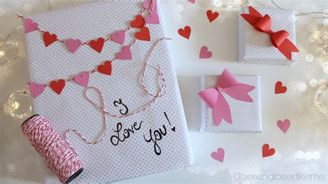 valentines day gift wrapping ideas    gift