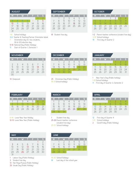 academic calendar gems world academy singapore