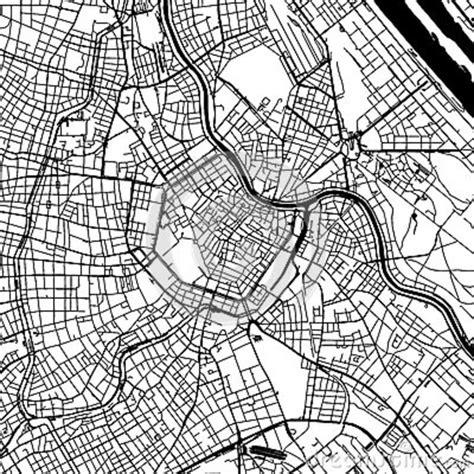 map  vienna austria stock image cartoondealercom
