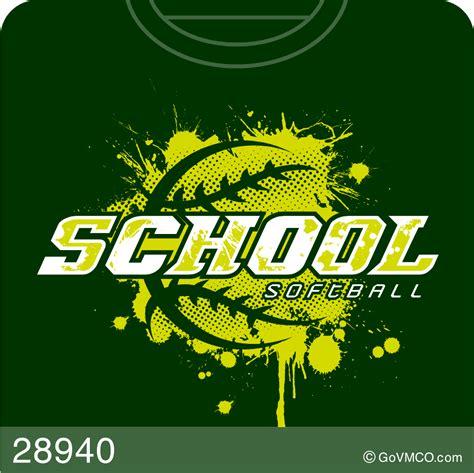 baseball softball varsity mascot  custom school