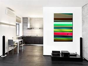 Tableau Moderne Salon : decorer son salon avec des tableaux ~ Teatrodelosmanantiales.com Idées de Décoration