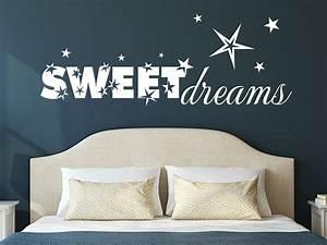 Wandtattoo Sweet Dreams : wandtattoo sweet dreams schlafzimmer wanddeko wandtattoo de ~ Whattoseeinmadrid.com Haus und Dekorationen