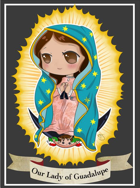 Our Lady of Guadalupe Chibi by Megasha on DeviantArt