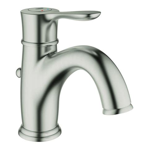 grohe kitchen sink faucets grohe parkfield single single handle bathroom faucet