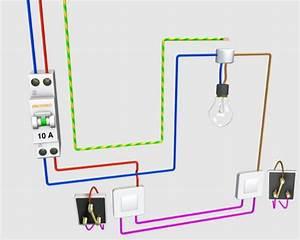 Cabler Un Va Et Vient : schema electrique va et vient branche technologie ~ Voncanada.com Idées de Décoration