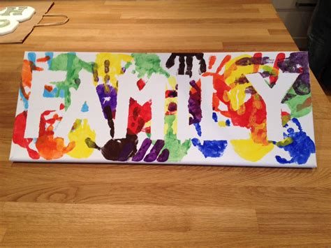 christmas love family crafts 23 and handprint and footprint crafts for the banners school today and