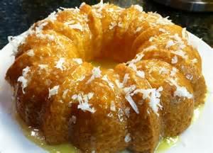 Crushed Pineapple Bundt Cake