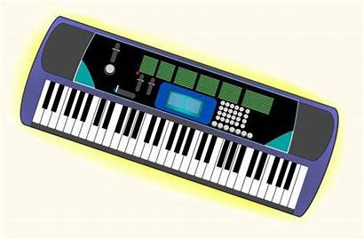 Keyboard Clipart Electronic Clip Musical Instrument Cliparts