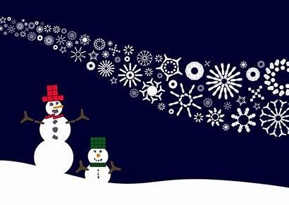 Greetings Season Seasons Animation Hitch Snowmen
