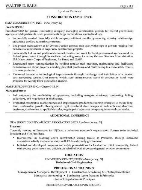 what do resume title sle resume for office manager