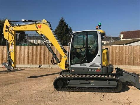 wacker neuson ez  tracked digger excavator  sale  united kingdom