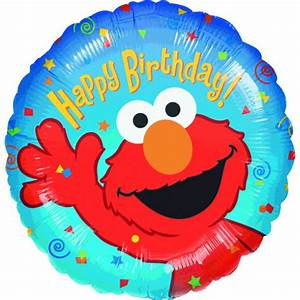 Elmo Birthday Balloons Montreal-Free Balloon Bouquets Delivery
