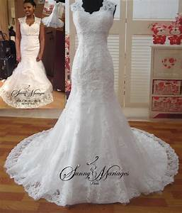 Robe Mariage Dentelle : robes de mariee en dentelle robe de mariee manche robe de ~ Mglfilm.com Idées de Décoration
