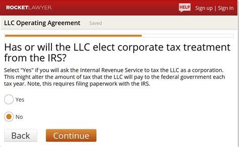 create  llc operating agreement   steps  template