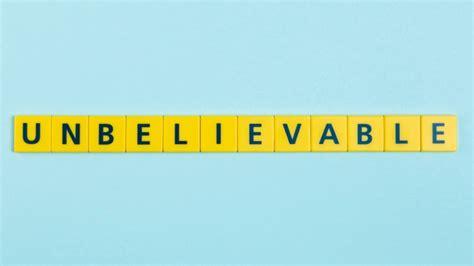 increible palabra en azulejos scrabble descargar fotos
