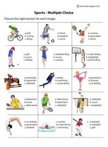 work for grade 1 sports choice worksheet