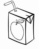 Juice Clipart Drawing Coloring Apple Colorear Orange Drink Dibujos Clip Boxes Colorir Juices Suco Sheets Letra Sun Dibujo Imagenes Naranja sketch template